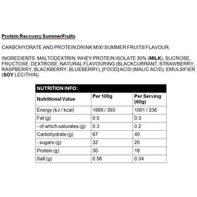 High5 Protein Recovery - Nutrition sport - fruits d'été, 1,6 kg avec protéines